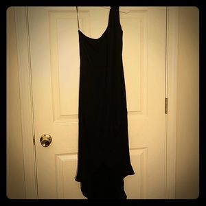 NWT Halston one shoulder dress